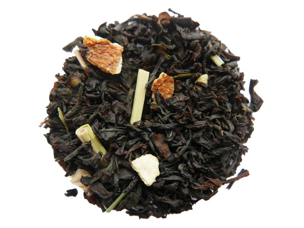 Nytt ekologiskt svart te - Pernod & Citron