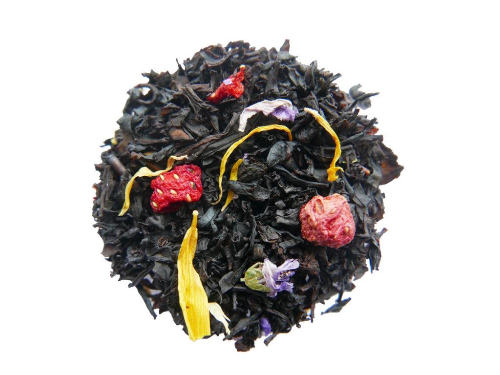 Nytt ekologiskt te - Tropisk Jordgubb