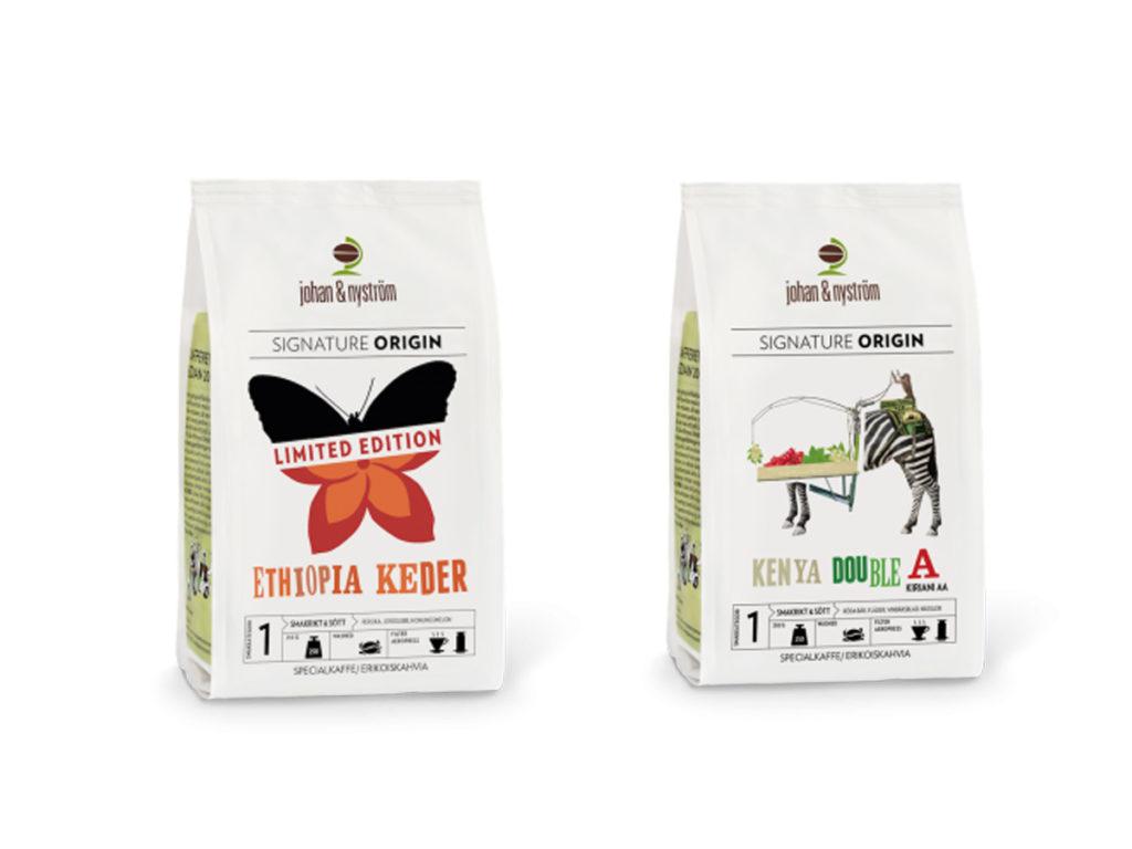 kaffe från kenya och etiopien